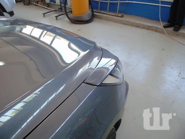 отремонтированый капот автомобиля Хёнде в москве
