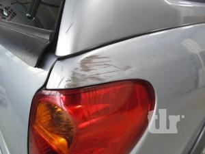 ремонт царапин на автомобиле Митцубиши Л200