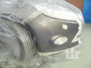 Удаление царапин и покраска бампера