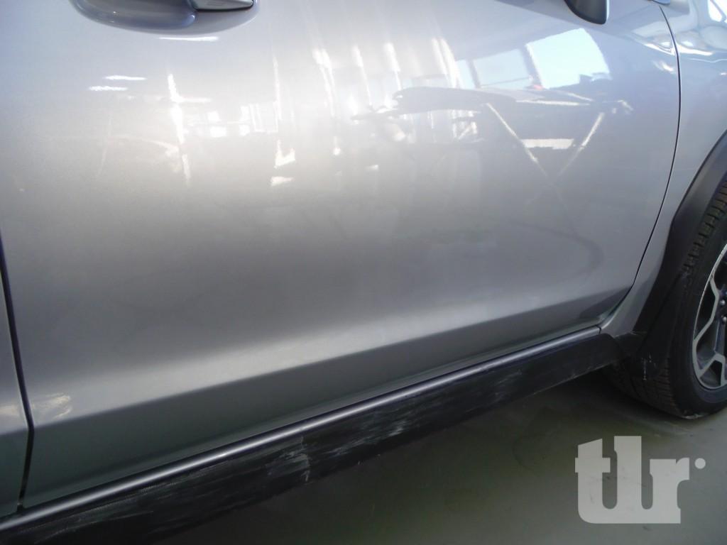 отремонтированый Субарик SubaruXV после удаления скола на двери