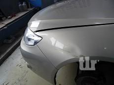 ремонт крыла Subaru Impreza